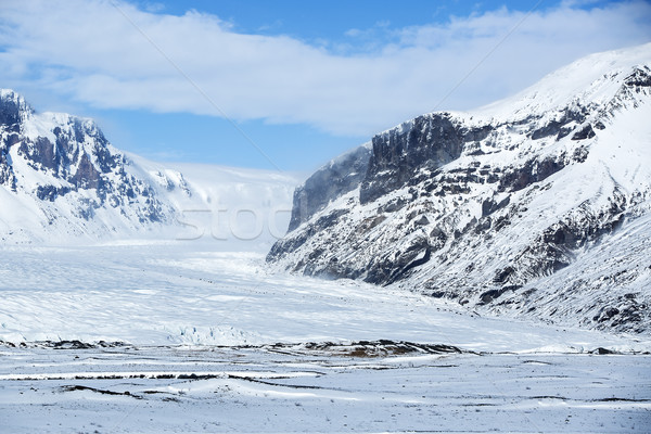 Winter panorama of Iceland Stock photo © kb-photodesign