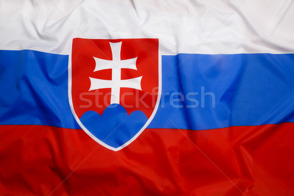 Flag of Slovakia Stock photo © kb-photodesign