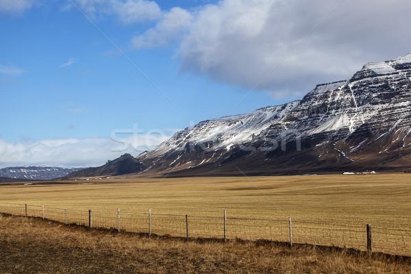 Volcanic landscape on the Snaefellsnes peninsula Stock photo © kb-photodesign