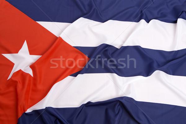 Куба флаг свободу стране свободный играх Сток-фото © kb-photodesign