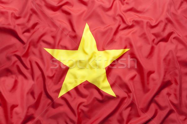 Textiles pavillon Viêt-Nam fond Photo stock © kb-photodesign