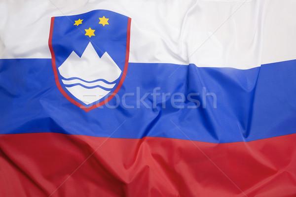 フラグ スロベニア 旅行 ヨーロッパ 国 ゲーム ストックフォト © kb-photodesign