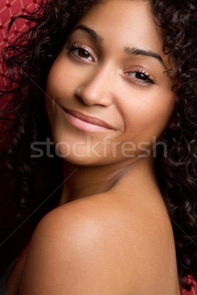 African American Woman Stock photo © keeweeboy