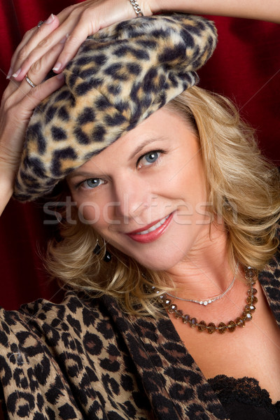 Middle Aged Woman Stock photo © keeweeboy