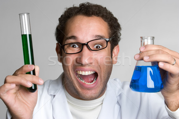 Mad Scientist Stock photo © keeweeboy