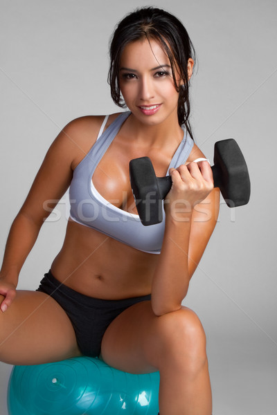 Woman Exercising Stock photo © keeweeboy