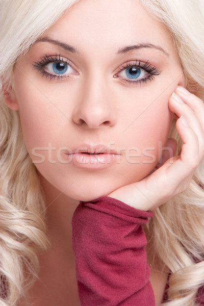 Beautiful Blond Woman Stock photo © keeweeboy