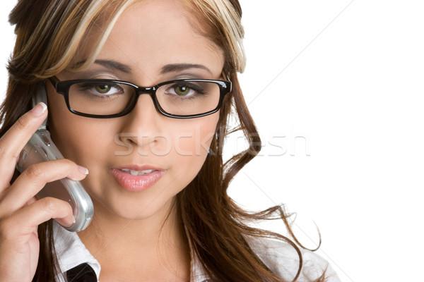 Telephone Woman Stock photo © keeweeboy