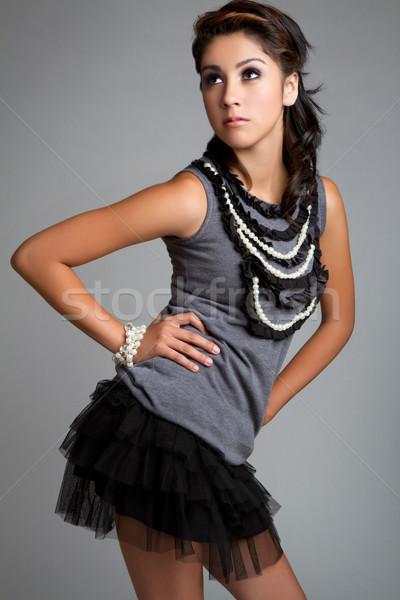 Hispanic Girl Stock photo © keeweeboy