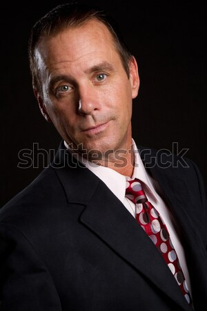 Businessman Headshot Stock photo © keeweeboy