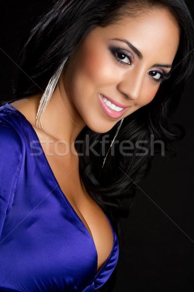 Smiling Latina Woman Stock photo © keeweeboy
