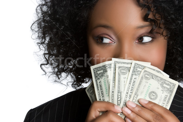 Money Woman Stock photo © keeweeboy
