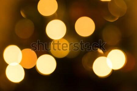 Defocused Christmas Lights Stock photo © keeweeboy