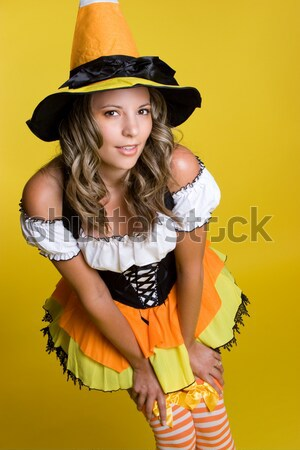 Halloween Witch Stock photo © keeweeboy