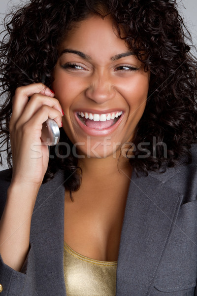 Phone Woman Stock photo © keeweeboy