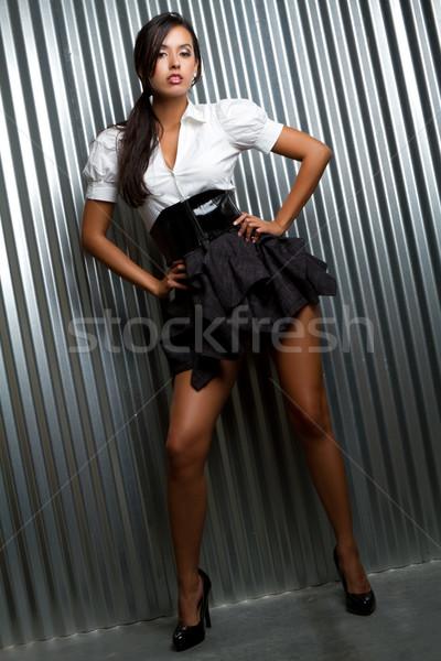 Fashion Model Woman Stock photo © keeweeboy