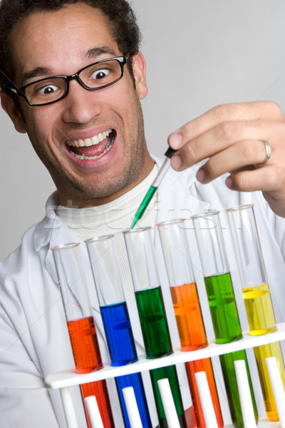 Science Experiment Man Stock photo © keeweeboy