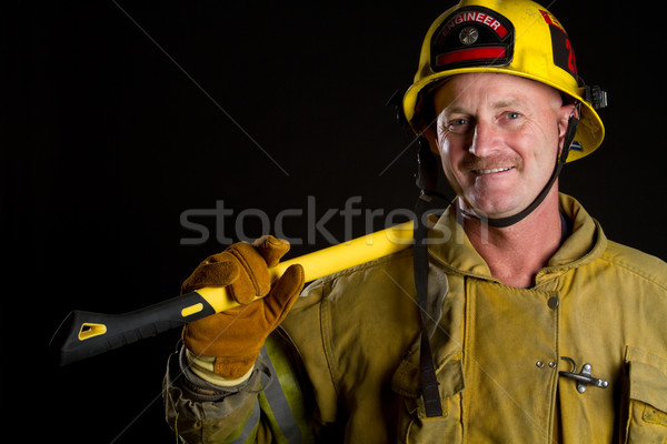 Firefighter Stock photo © keeweeboy
