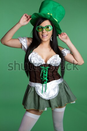 Irish Woman Stock photo © keeweeboy