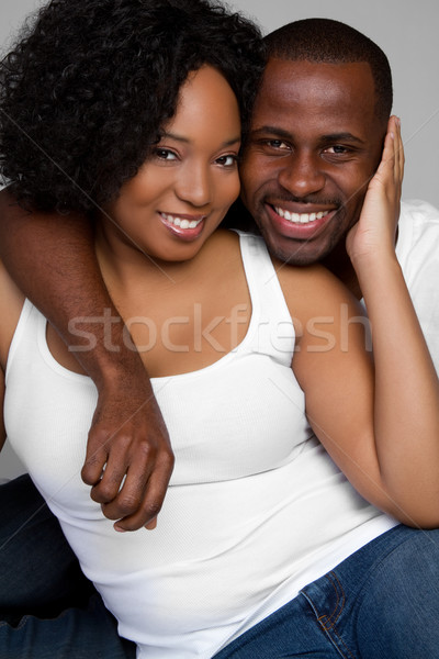 Black Couple Stock photo © keeweeboy