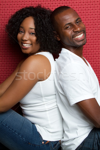 African American Couple Stock photo © keeweeboy