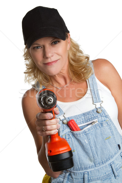 Power Tools Woman Stock photo © keeweeboy
