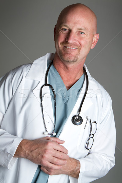 Smiling doctor Stock photo © keeweeboy