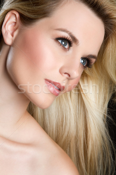 Beautiful Woman Face Stock photo © keeweeboy