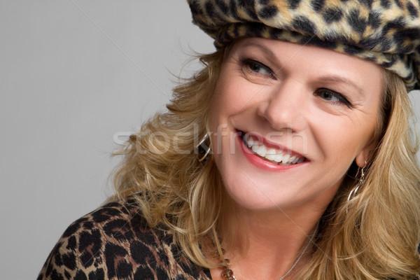 Woman Wearing Hat Stock photo © keeweeboy