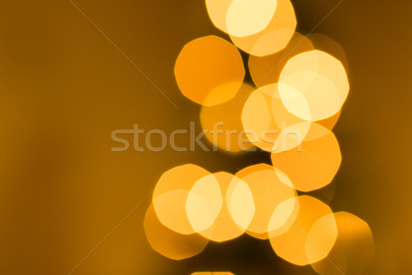 Noel ışıklar tatil noel ağacı dizayn kış Stok fotoğraf © keeweeboy