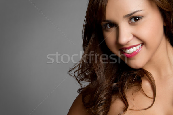 Smiling Hispanic Girl Stock photo © keeweeboy