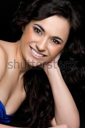Smiling Woman Stock photo © keeweeboy