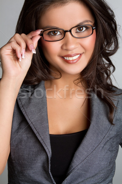 Asian Businesswoman Stock photo © keeweeboy