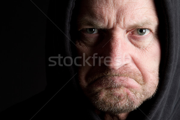 Grumpy Old Man Stock photo © keeweeboy
