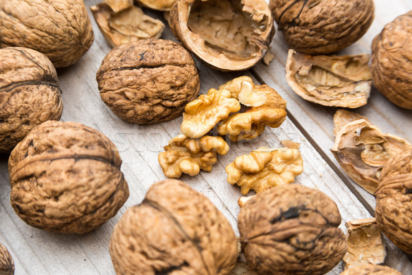Fresh Walnuts Stock photo © keeweeboy