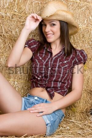 Country Girl Stock photo © keeweeboy