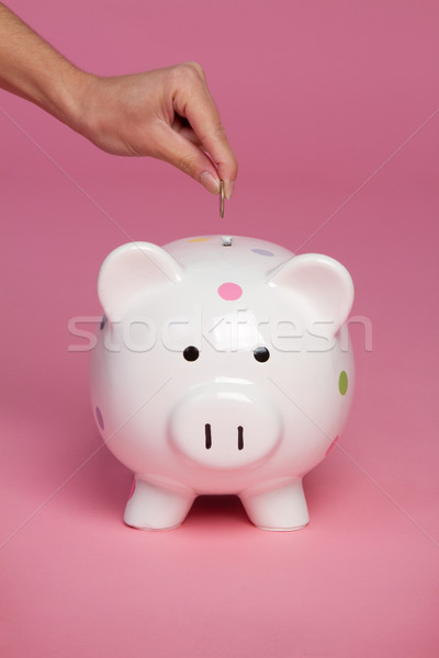 Piggy Bank Coin Stock photo © keeweeboy