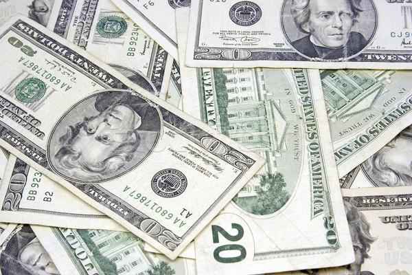 Twenty Dollar Bills Stock photo © keeweeboy