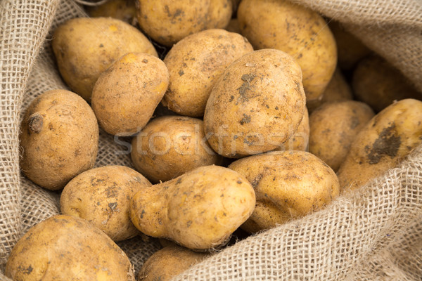 Potatoes in Sack Stock photo © keeweeboy