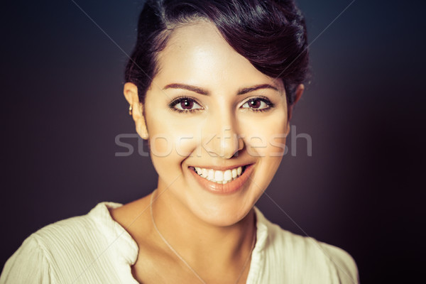 Smiling Middle Eastern Woman Stock photo © keeweeboy