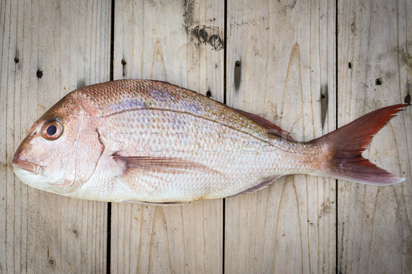 Tutto greggio pesce legno alimentare pesca Foto d'archivio © keeweeboy