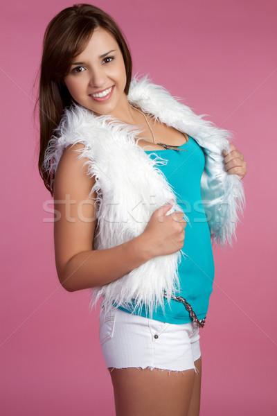 Сток-фото: подростка · девушка · Hispanic · улыбаясь · женщину · модель · подростков