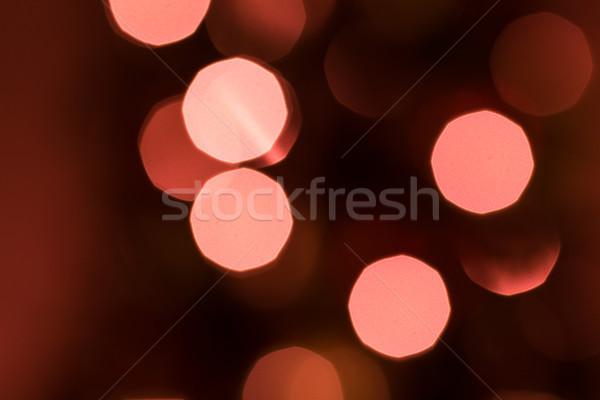 Noel ışıklar tatil dizayn kış model Stok fotoğraf © keeweeboy