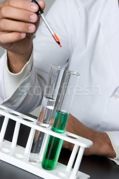 Test Tubes Stock photo © keeweeboy
