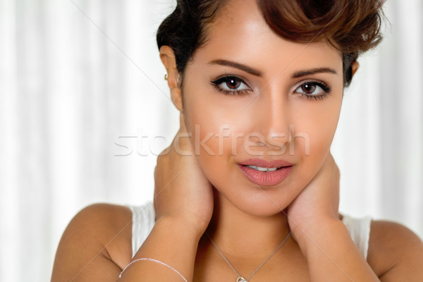 Pretty Young Woman Stock photo © keeweeboy