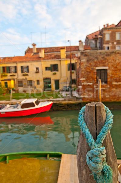 Venecia Italia insólito vista lugar Foto stock © keko64