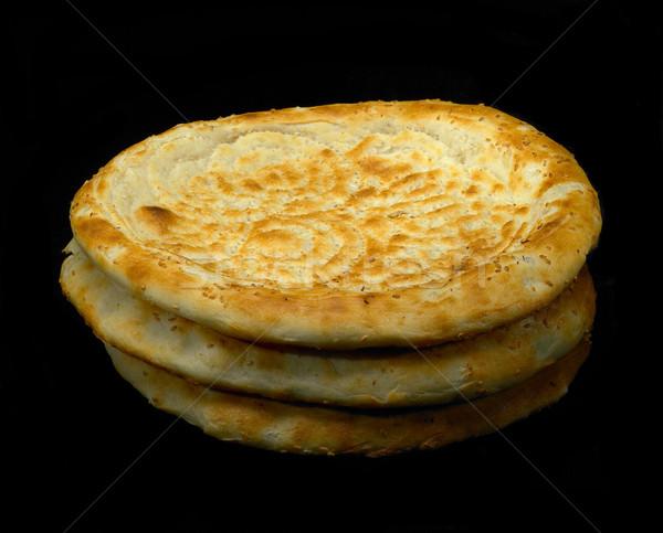 Brood origineel vers geïsoleerd zwarte tarwe Stockfoto © keko64