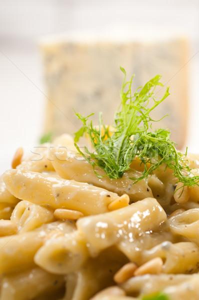 Stockfoto: Italiaans · pasta · pine · noten · traditioneel · voedsel
