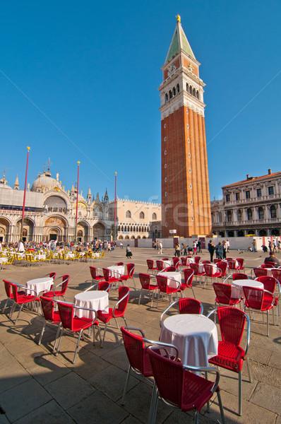 Venetië Italië vierkante water Stockfoto © keko64