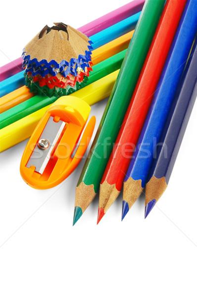 coulored pencils Stock photo © keko64